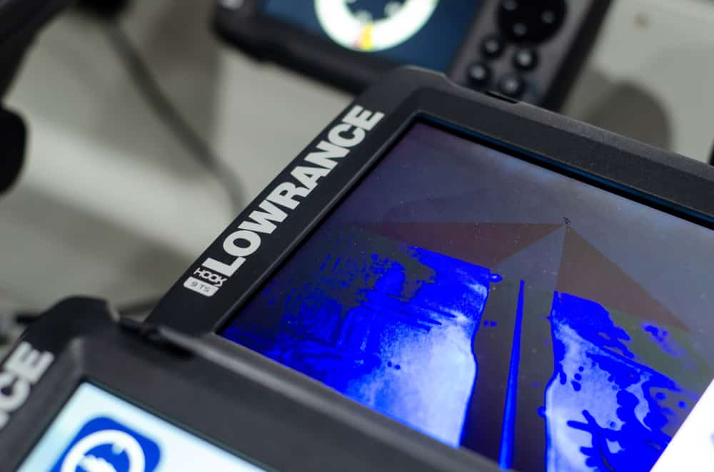 lowrance sonar says stopped